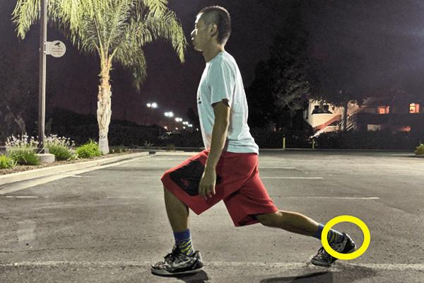 ジョギング前に大切なアキレス腱のストレッチ