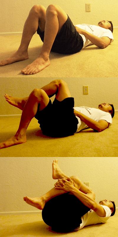 寝る前に最適なストレッチメニュー:臀筋のストレッチ