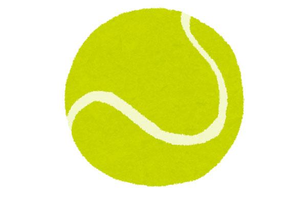 肩周辺のストレッチにも使えるテニスボール!