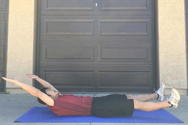ログローリング:子供にも最適な体幹トレーニング1