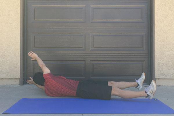 ログローリング:子供にも最適な体幹トレーニング2