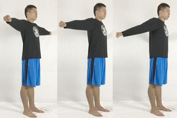 T字後方プッシュで肩周辺のインナーマッスルを強化する方法