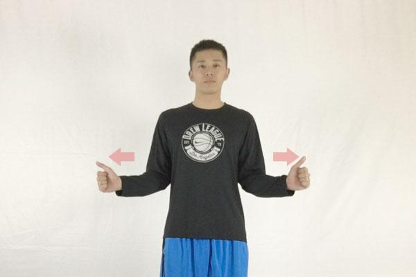 腕開きトレーニングで肩周辺のインナーマッスルを強化すると肩こり改善に役立つ
