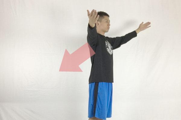 Y字後方プッシュストレッチ筋トレで肩こりを根本解決する