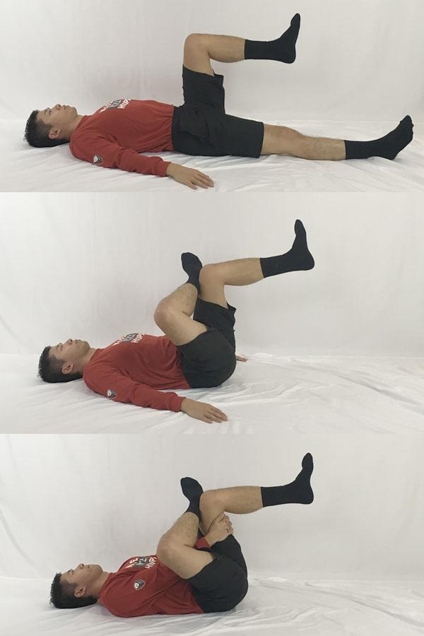 腰痛体操ストレッチ:お尻のストレッチ