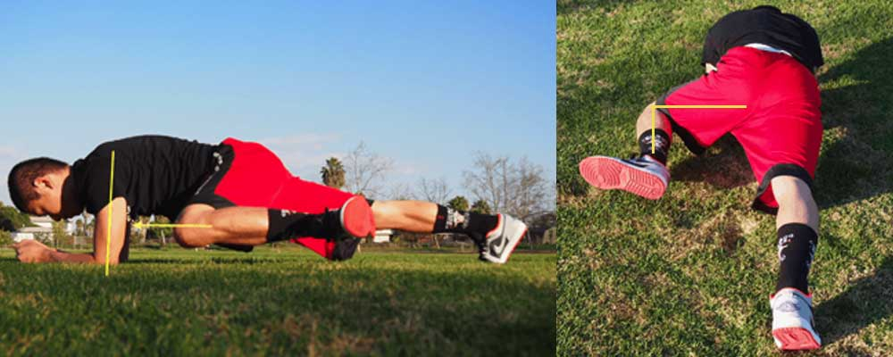 中級者向けのプランクからフロッグレッグで中臀筋を鍛える方法
